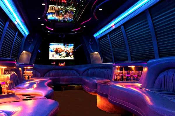 18 passenger Albuquerque party bus rentals