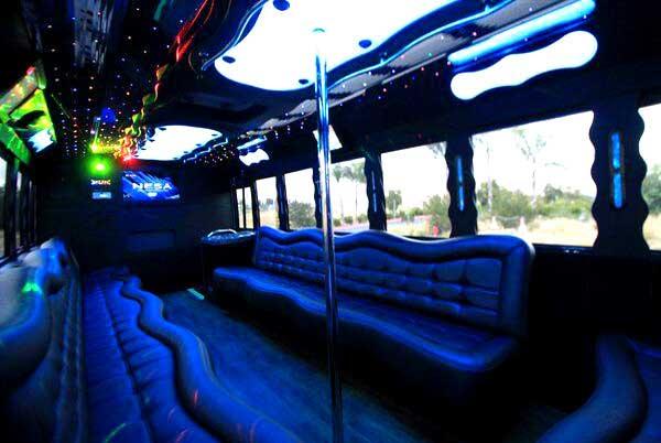 40 people party bus Albuquerque