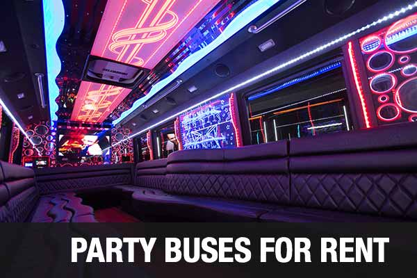 airport transportation party bus albuquerque