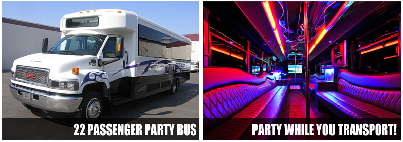 airport transportation party bus rentals albuquerque