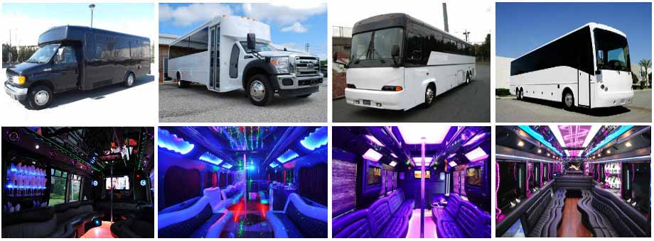 airport transportation party buses albuquerque